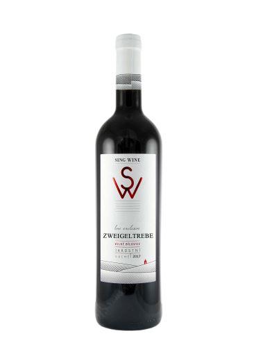 Zweigeltrebe, Exclusive, Jakostní odrůdové, 2018, Sing Wine, 0.75l