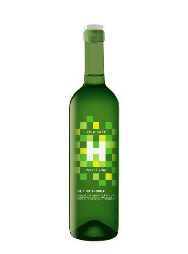 Veselé víno, Müller Thurgau, 2020, Vinařství VINO HORT, 0.75l