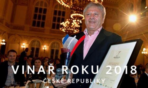 Vinařem roku 2018 se stal Miroslav Volařík